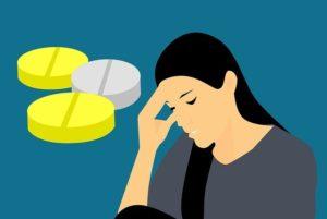 Mineral beseitigt Kopfschmerzen und Stress